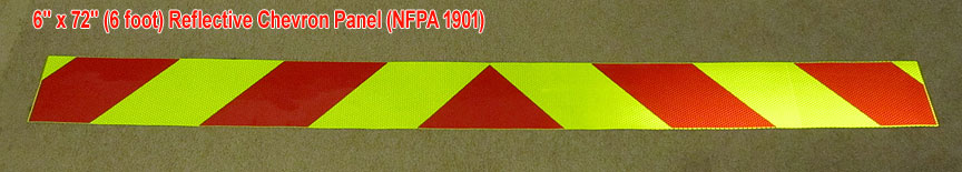 nfpa chevron panels reflective