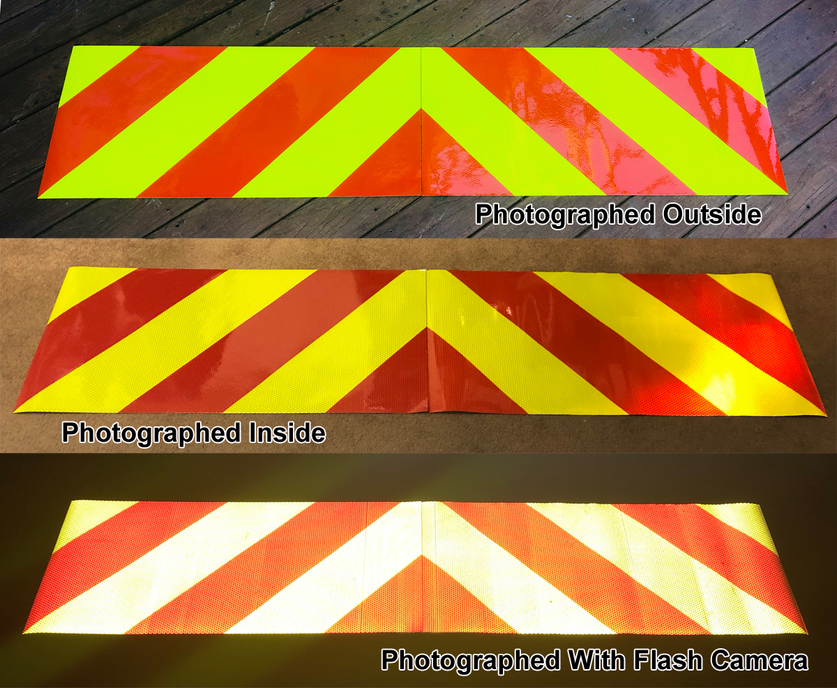 2 Piece Chevron Panel Kits - Lime and Red