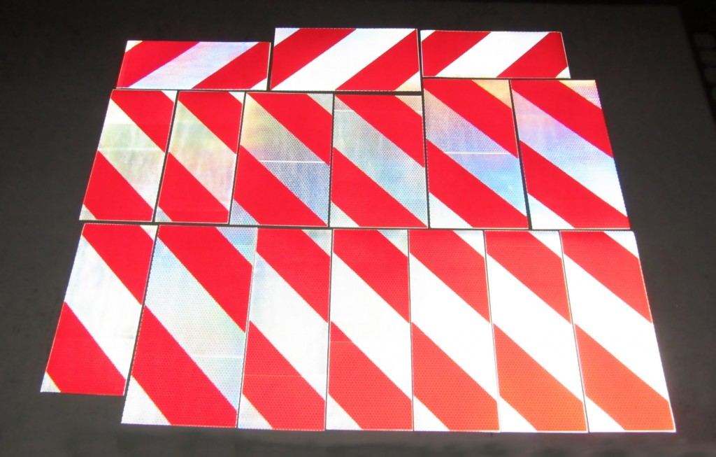 crane rigger reflective panels