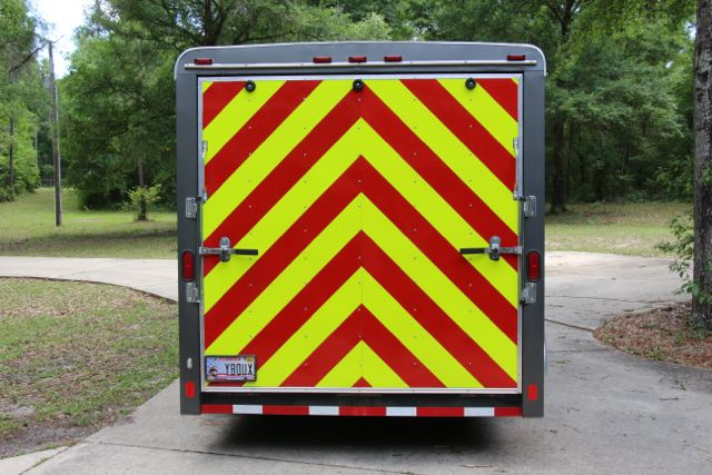 utility trailer chevron panel reflective