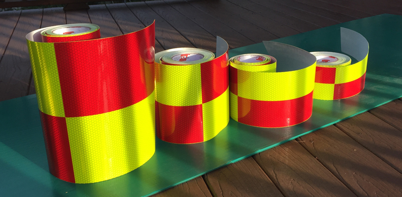 battenburg reflective decal rolls panels