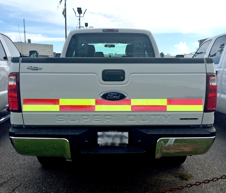 Ford Truck Reflective Battenburg Panel Markings